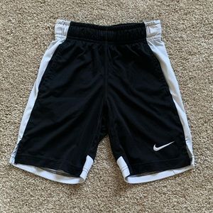 Nike Dri-Fit Boys XS Black/White Shorts